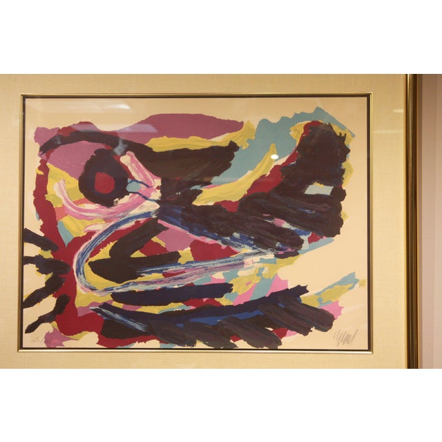 Lithograph by Karel Christiaan Appel Signed and Numbered For Sale - Image 5 of 7