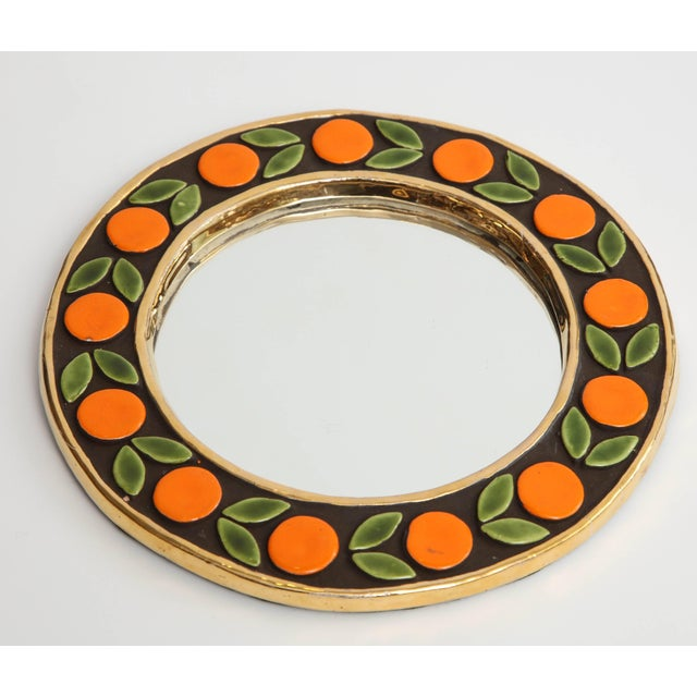 French Mirror by Francois Lembo For Sale - Image 3 of 6