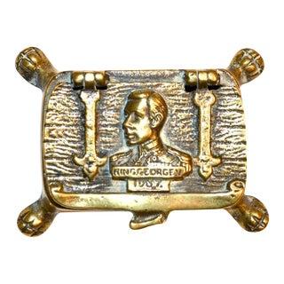 King's Speech George VI 1937 Trinket Box