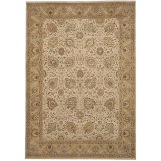 Hand Knotted Indo-Persian Rug, Limited Edition -- 10'x 14' For Sale