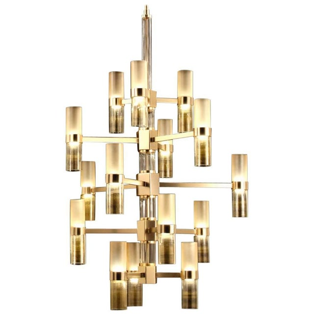 Not Yet Made - Made To Order Multistrato Chandelier by Fabio Ltd For Sale - Image 5 of 5