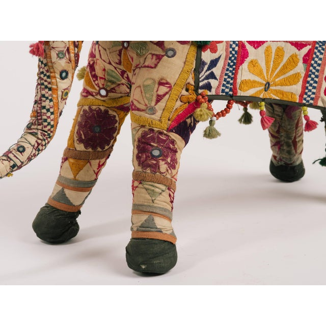 Textile 1970s Indian Elephant For Sale - Image 7 of 8