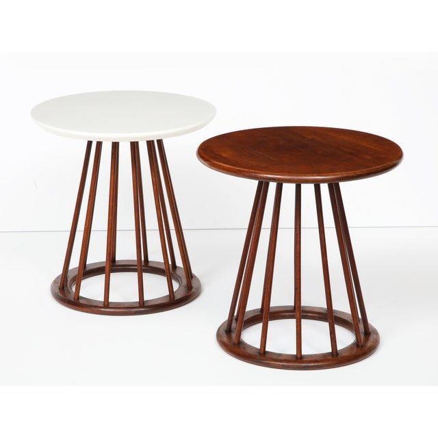Arthur Umanoff Side Tables for Washington Woodcraft - Set of 2 For Sale - Image 13 of 13