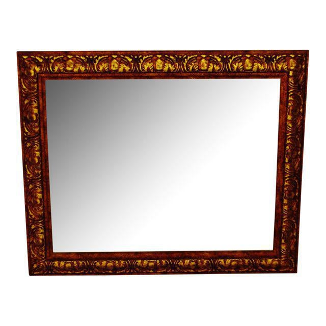 Decoratively Framed Bevelled Wall Mirror 34 x 28 - Image 8 of 8