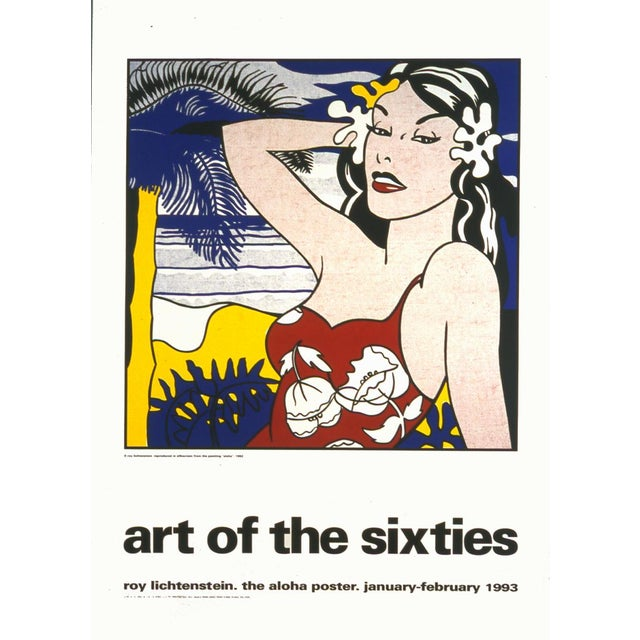 1993 Aloha, from Art of the Sixties Poster by Roy Lichtenstein For Sale