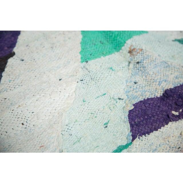 "Vintage Rag Rug Carpet - 5'1"" X 8' - Image 9 of 9"