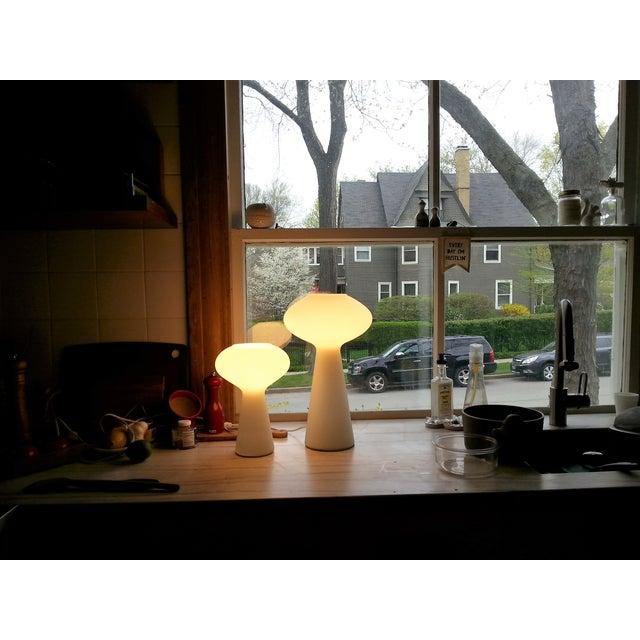 MidCentury Mod Mushroom Lamps, Lisa Johansson-Pape - Image 7 of 11