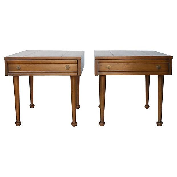 American of Martinsville Mid-Century End Tables - Pair - Image 3 of 7