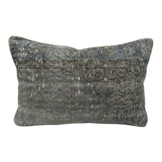 Turkish Handmade Decorative Gray Pillow Cover For Sale