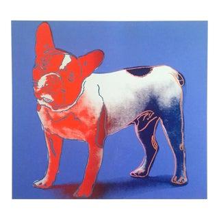 "Andy Warhol Foundation Offset Lithograph Print Pop Art Poster "" Moujik "" 1986 For Sale"