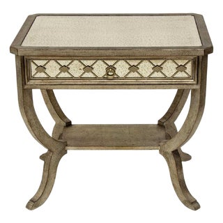 Modern Hooker Furniture 'Sanctuary' Mirrored Side Table For Sale