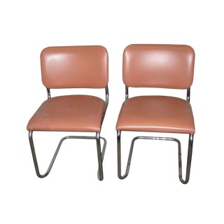 Mid-Century Thonet Chairs - A Pair