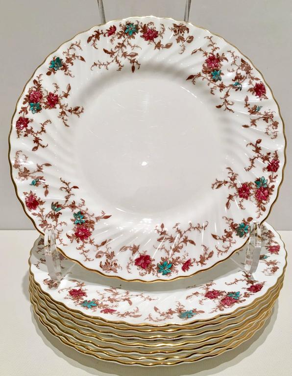Vintage Minton England \ Ancestral\  Bone China Dinnerware - Set of 26 - Image 3  sc 1 st  Chairish : vintage bone china dinnerware - pezcame.com