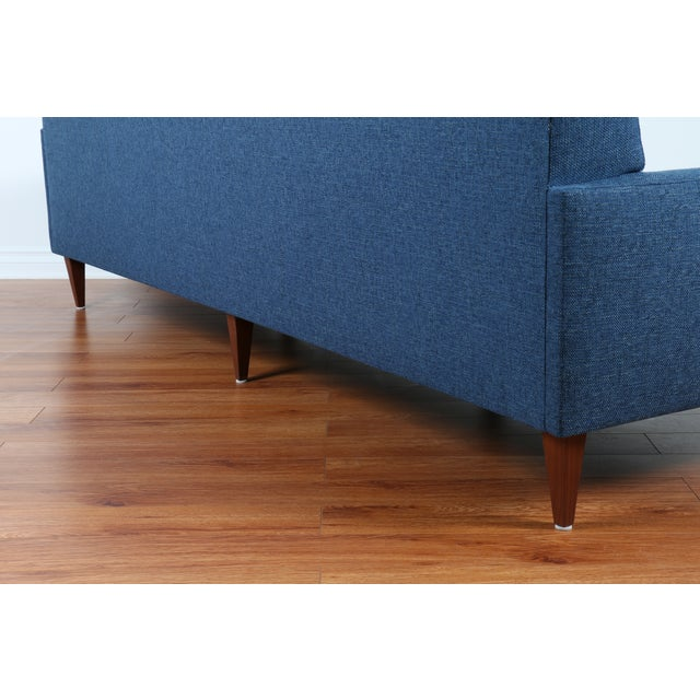 1960's Refinshed And Reupholstered Sofa - Image 8 of 9