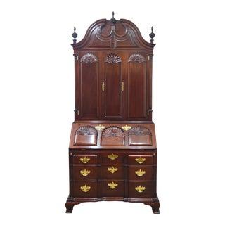 Kindel Winterthur Mahogany Secretary Desk For Sale