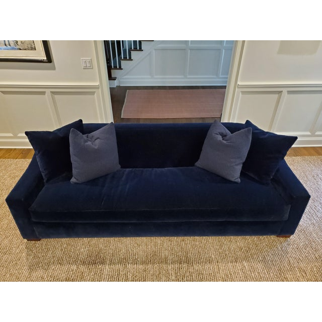 Ralph Lauren Tremont Sofa and Pillows For Sale In New York - Image 6 of 6