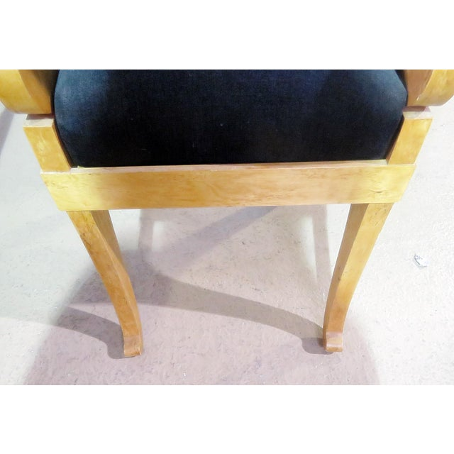 Set of 4 Biedermeier Style Side Chairs For Sale - Image 10 of 13