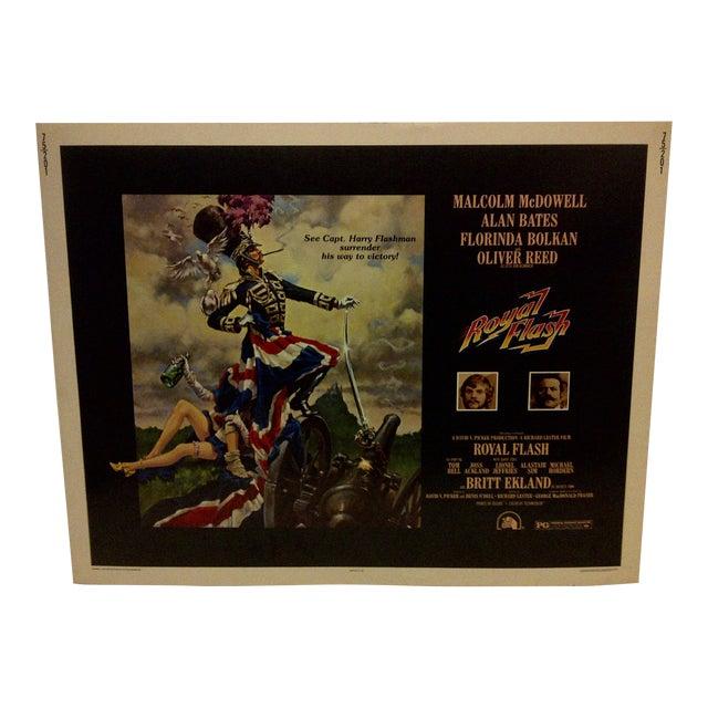 "Vintage ""Royal Flash"" 1975 Movie Poster For Sale"