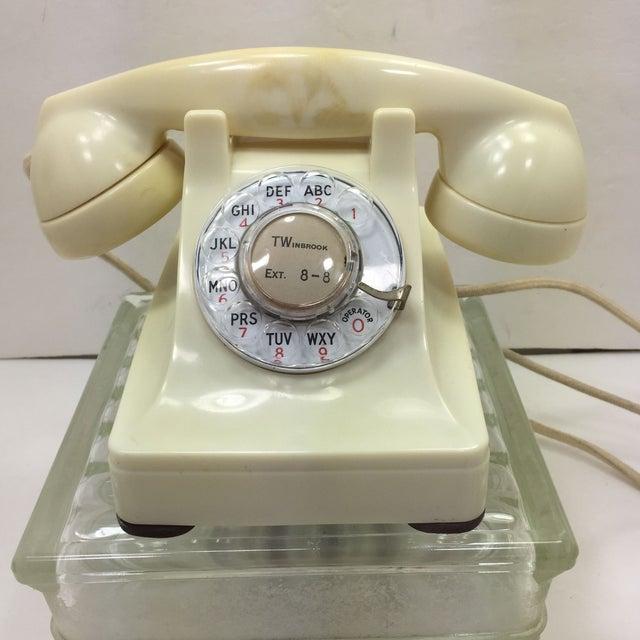 Western Electric 1953 Ivory 302 Telephone - Image 2 of 8