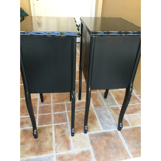 Paint 1930 French Country Side Tables - a Pair For Sale - Image 7 of 13