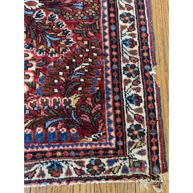 """Petite Persian Rug- 2' X 2'5"""" For Sale - Image 4 of 6"""