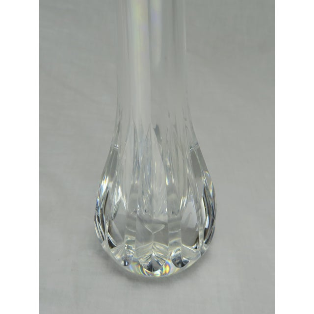 Glass Baccarat Crystal Bud Vase For Sale - Image 7 of 9