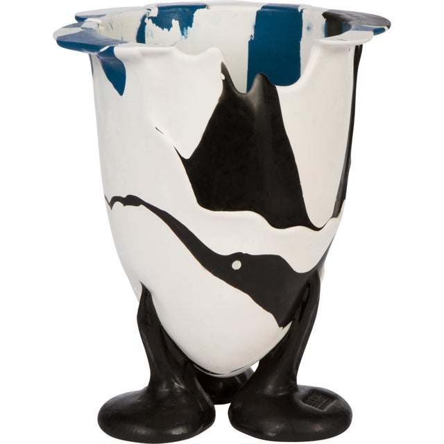 2000 - 2009 Abstract Plastic Vase Signed Gaetano Pesce For Sale - Image 5 of 5