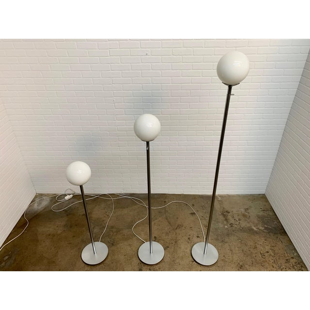 1990s Vintage Globe Floor Lamps by ClassiCon - Set of 3 For Sale - Image 5 of 12