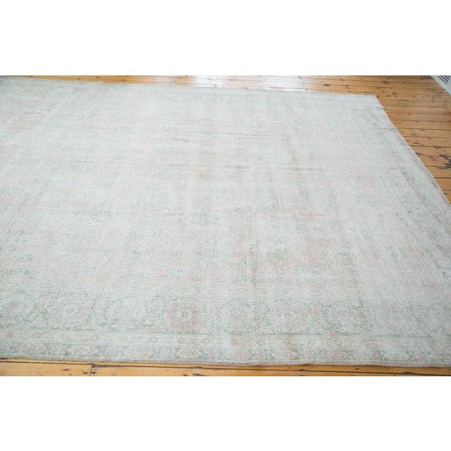 "Distressed Oushak Carpet - 9' X 12'1"" - Image 4 of 10"