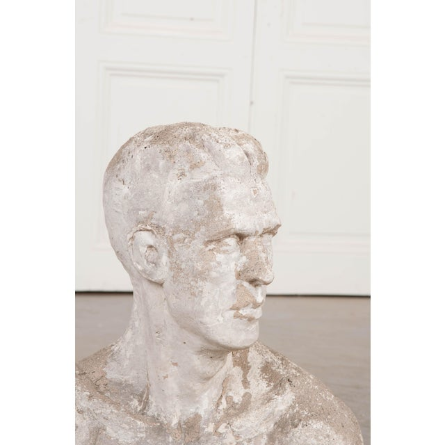 Neoclassical Early 20th Century English Plaster Bust For Sale - Image 3 of 9