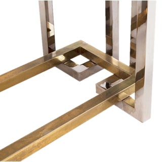 Romeo Rega Brass and Chrome Dining Table Preview