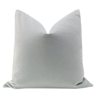 "22"" Mist Velvet Pillow Cover"