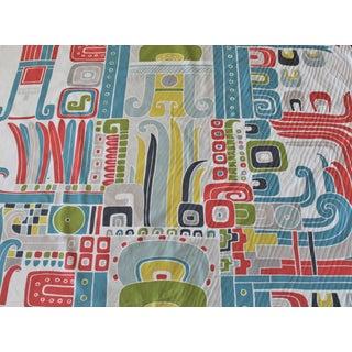 Kaufman Pop Geometric Water Repellent Fabric For Sale