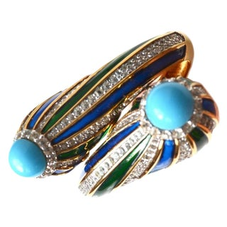 Jomaz Colorful Clamper Bracelet For Sale
