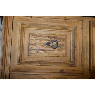 Vintage Natural Wood Indonesian Armoire Preview