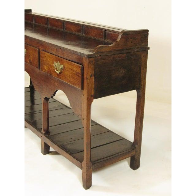 18th Century Vintage Welsh Elm Sideboard For Sale - Image 10 of 12