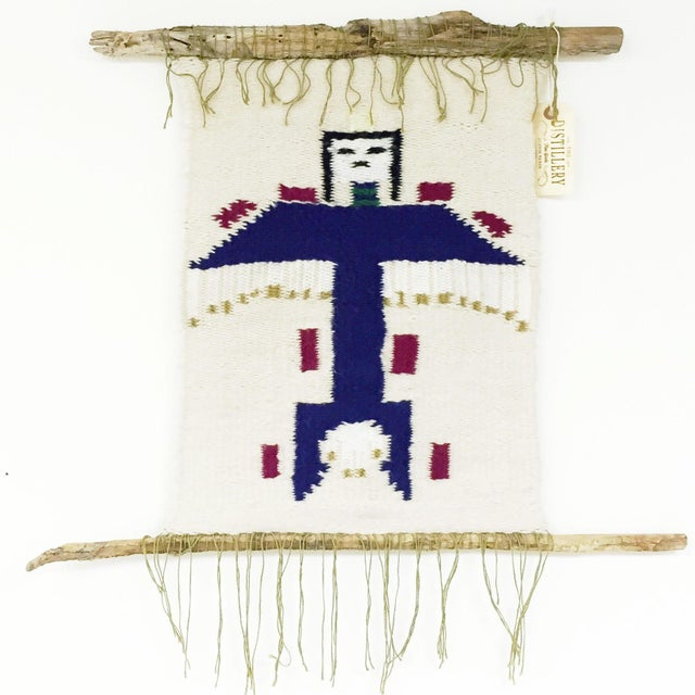 Vintage Native American Kachina Wall Hanging - Image 2 of 6