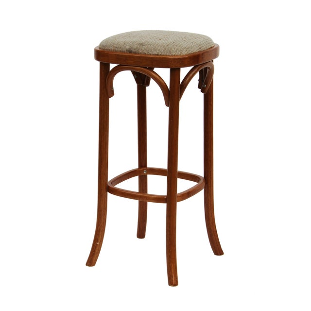 Rattan Barstools - Set of 3 - Image 4 of 4