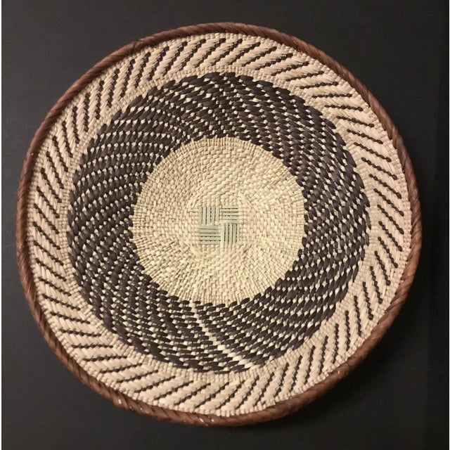 Binga Basket | Tonga Baskets 22 | African Basket | Woven Basket |Zimbabwe Basket |Ethnic Pattern |Ethnic Decor |Wall Hanging Basket - Image 4 of 8