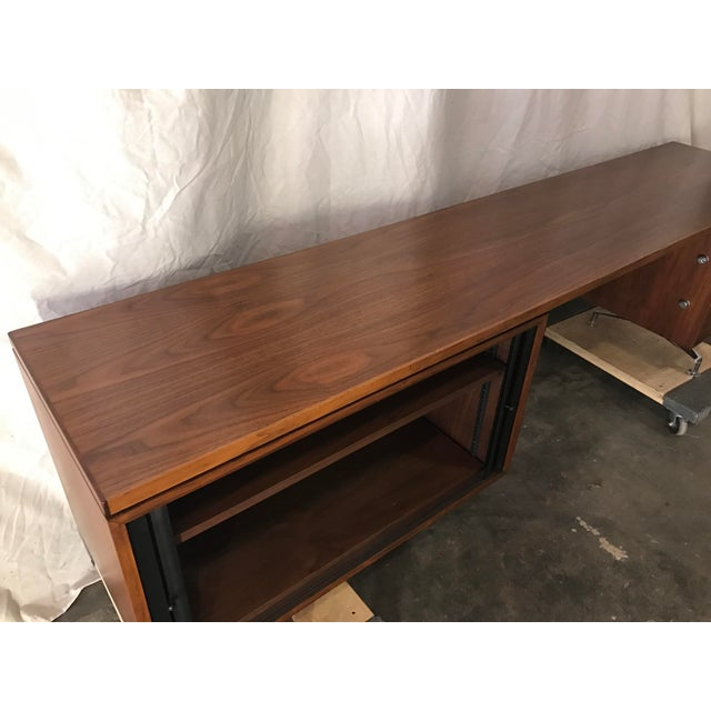 Imperial Staggered Desk & Credenza For Sale - Image 10 of 11