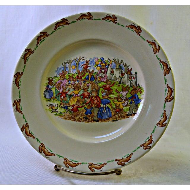 Ceramic Vintage Kids Dinner Set For Sale - Image 7 of 10