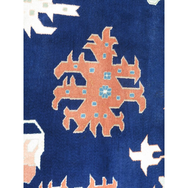 Textile Persian Heriz Pattern Rug - 27' x 17' For Sale - Image 7 of 11