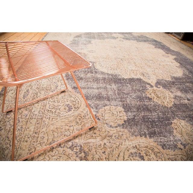 "Distressed Vintage Oushak Carpet - 9'9"" x 14'5"" - Image 3 of 7"