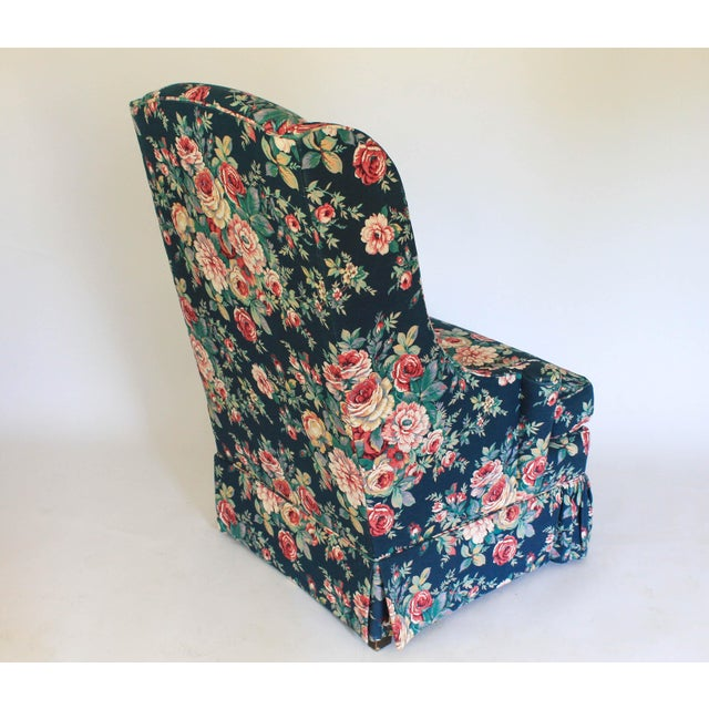 High Back Wing Chair For Sale In Milwaukee - Image 6 of 12