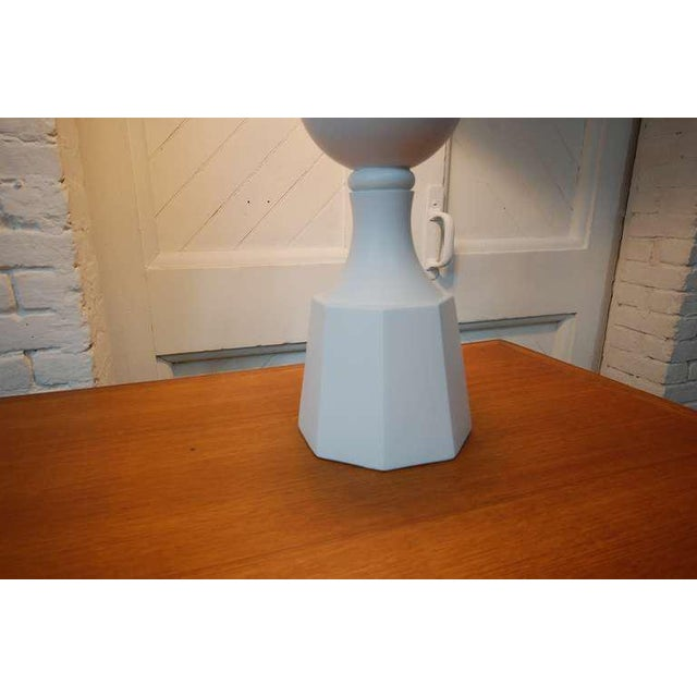 Monumental Balustrade-Form Plaster Table Lamp For Sale In Providence - Image 6 of 11