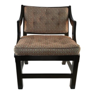 Child's English Chinese Chippendale Upholstered Chair For Sale