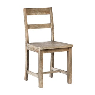 Reclaimed Pine Dining Chair For Sale