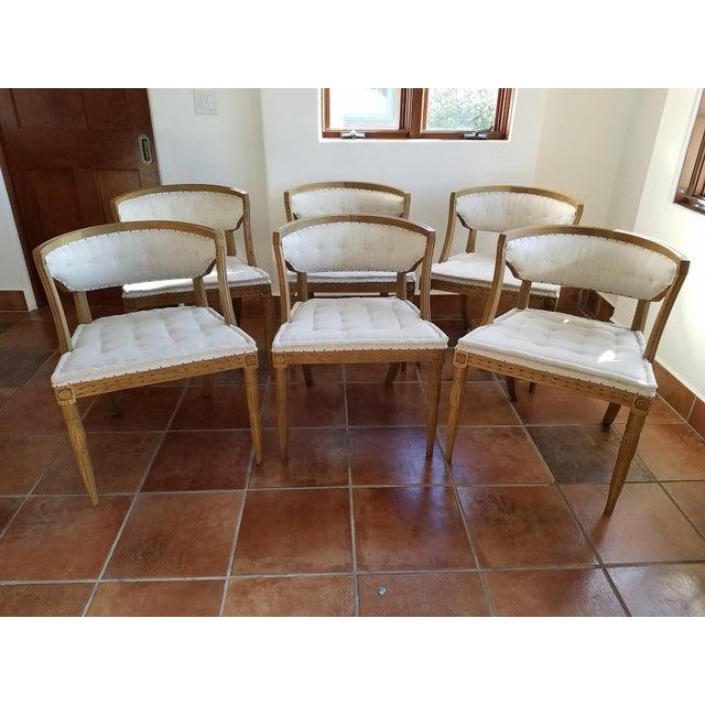 Restoration Hardware Swedish Demi-Lune Dining Chairs - 6 ...