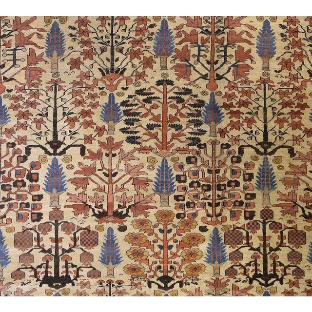 "Bakshaish Origin: Persia US Size: 13 ' 7 "" x 18 ' 7 "" Circa: 1880 Metric Size: 4.14 x 5.66 meters"