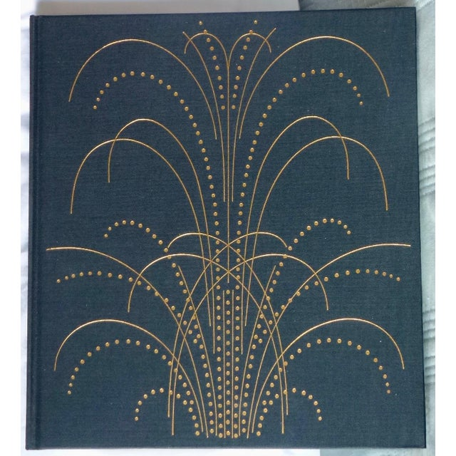 """1980s 1960s Vintage """"Art Nouveau and Art Deco Book Binding"""" Book For Sale - Image 5 of 9"""